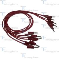 Красный силиконовый соединительный кабель R&S HZ10R
