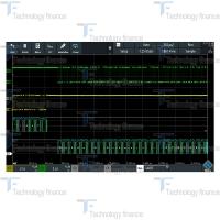 Синхронизация и декодирование UART/RS-232/RS-422/RS-485 R&S RTB-K2