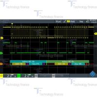 Синхронизация и декодирование данных I2C/SPI R&S RTH-K1