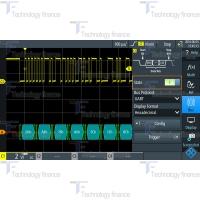 Синхронизация и декодирование данных UART/RS-232/RS-422/RS-485 R&S RTH-K2