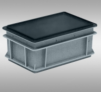 Антистатические крышки для плоскодонных контейнеров RAKO