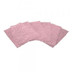 Антистатическая рассеивающая розовая упаковка с воздушными демпфирующими прослойками