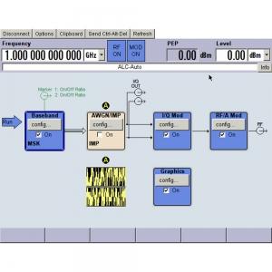 Опция управления внешним генератором Rohde & Schwarz FSW-B10