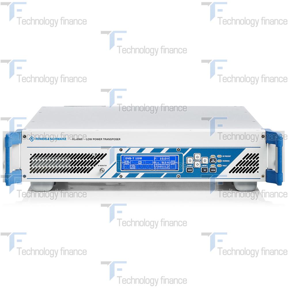 Фронтальная панель передатчика R&S XLV8050