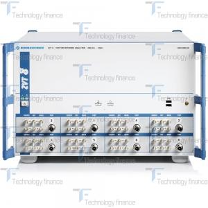 Фронтальная панель анализатора R&S ZVT8