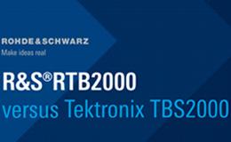 Сравнение осциллографов R&S RTB2000 и Tektronix TBS2000B