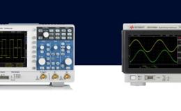 Сравнение осциллографов R&S RTC1000 и Keysight 1000X